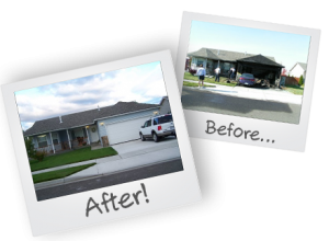 before-and-after-burned-garage